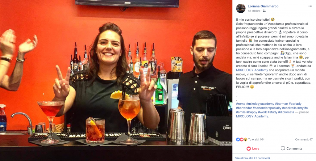 Garanzia Soddisfatti o Rimborsati Corsi Barman