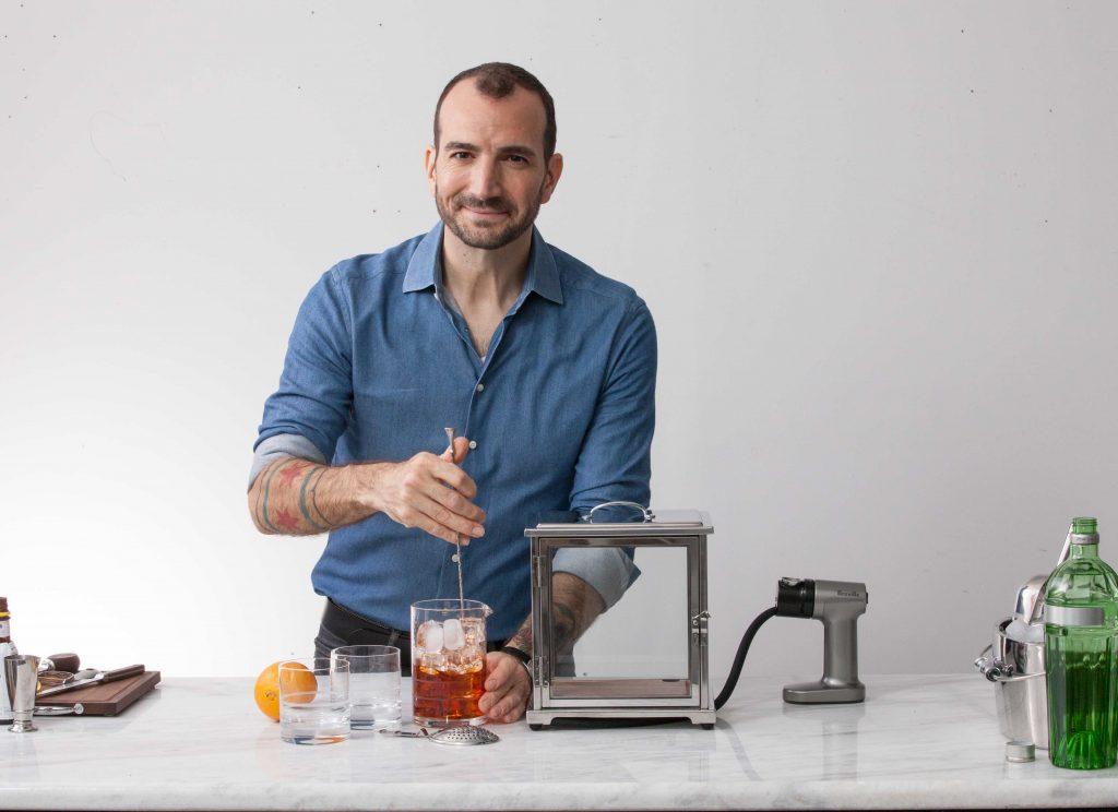 bartender Charles Joly