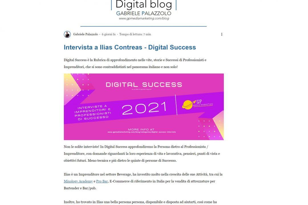 Gp Digital Marketing parla di MIXOLOGY Academy