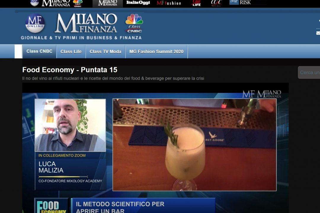 Milano Finanza parla di MIXOLOGY Academy