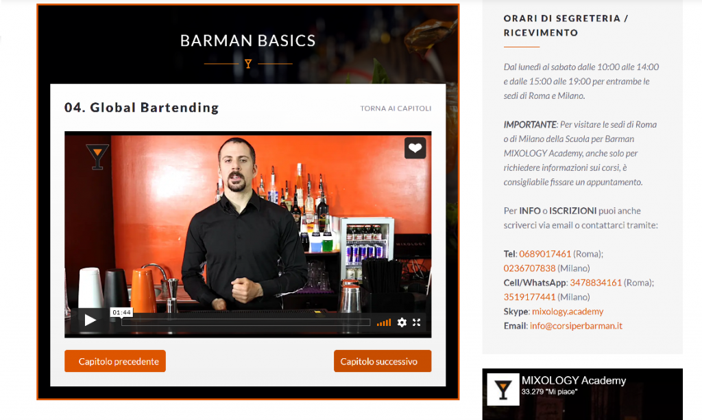 BARMAN BASICS